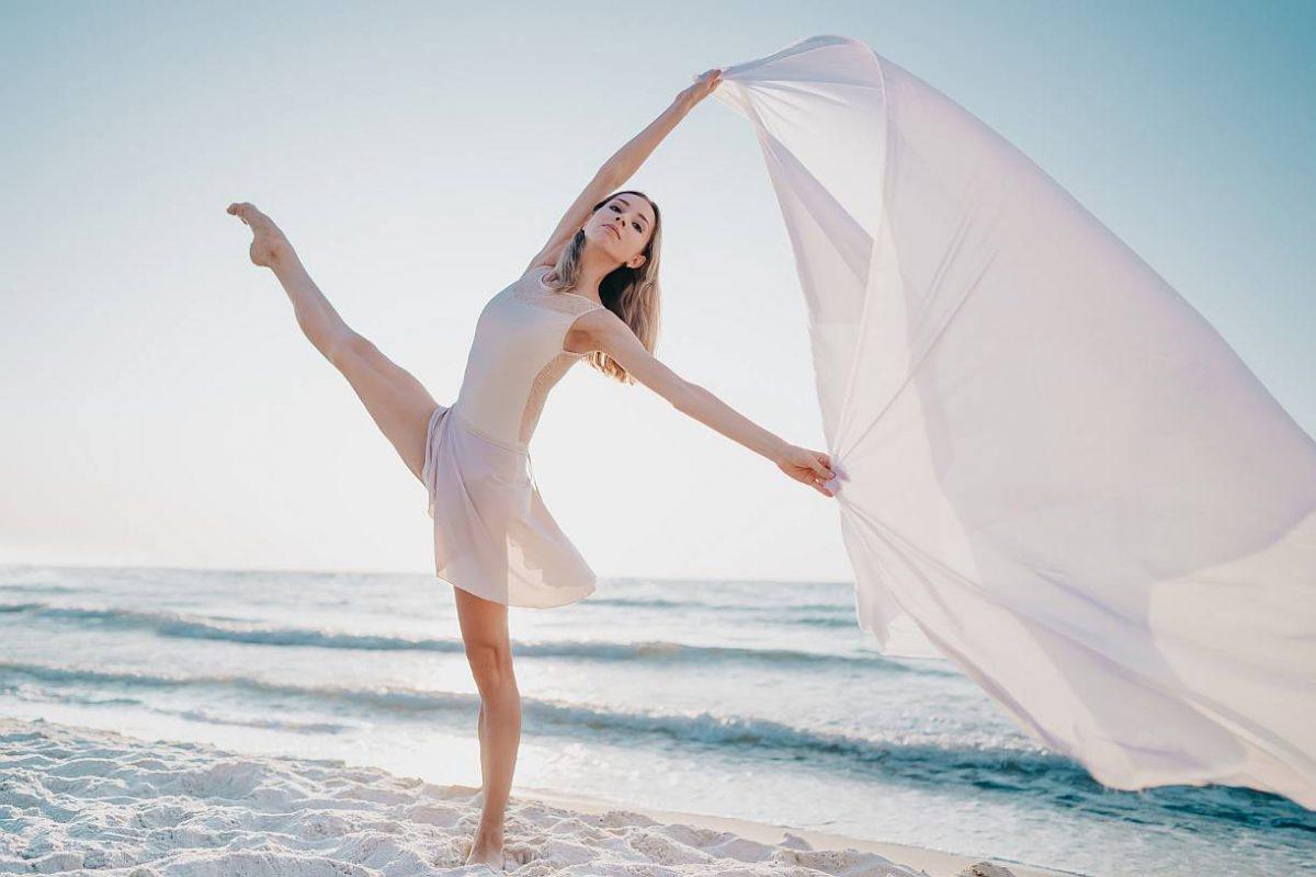 Gracja i lekkość tańca
